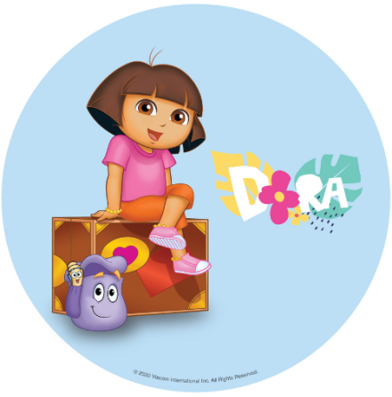 Dora tårtbild