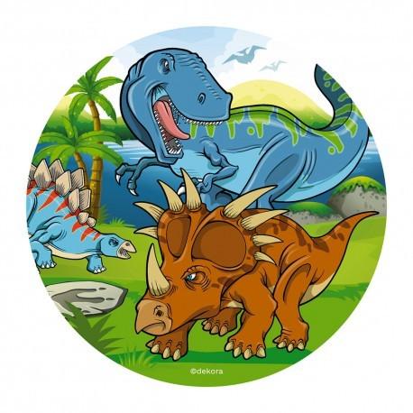 Dinosaurier, Tårtbild