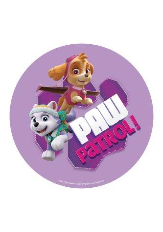 Paw Patrol tårtbild