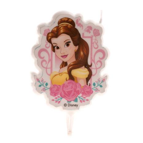 Prinsessan Belle tårtljus