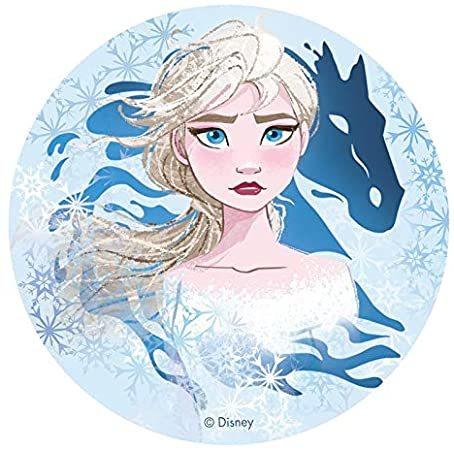 Frost II Elsa, tårtbild