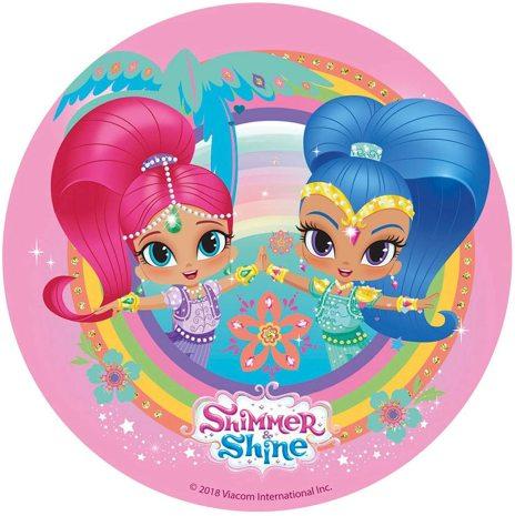 Shimmer & Shine, Tårtbild
