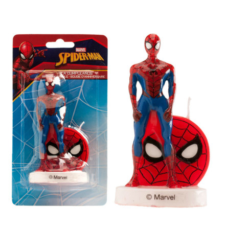 Spindelmannen, 3D tårtljus