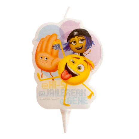 Smiley / Emoji, 2D tårtljus