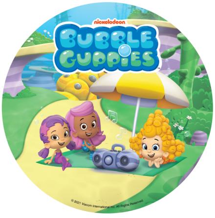 Bubble Guppies, tårtbild