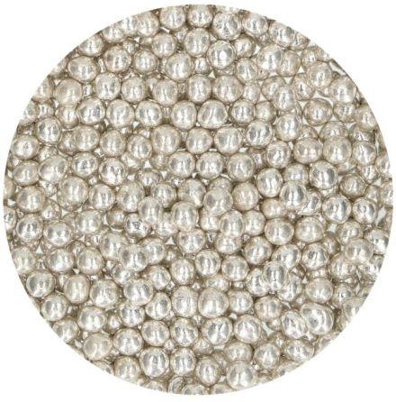 Soft Pearls - Metallic Silver Strössel