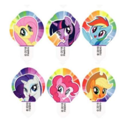 My Little Pony, Cupcake dekoration mix