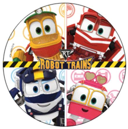 Robot Trains, Tårtbild