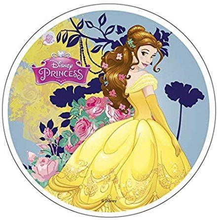 Disney Prinsessor Belle, Tårtbild 21 cm