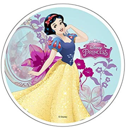 Disney Prinsessor Snövit, Tårtbild 21 cm