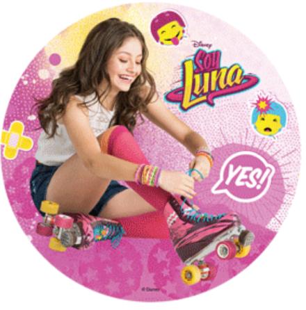 Soy Luna Tårtbild, stärkelseoblat