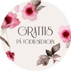 Grattis blommor