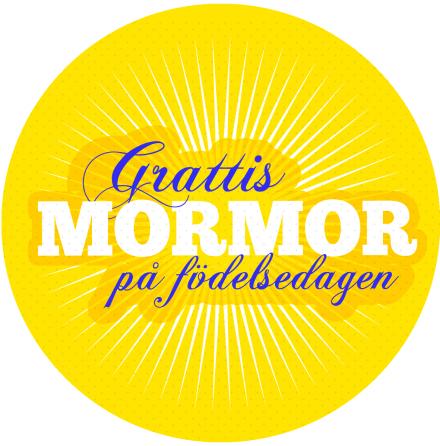 Grattis Mormor