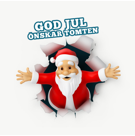 God jul tomte