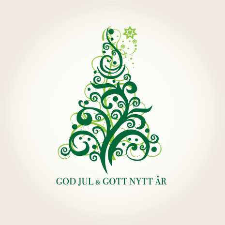 God jul gran