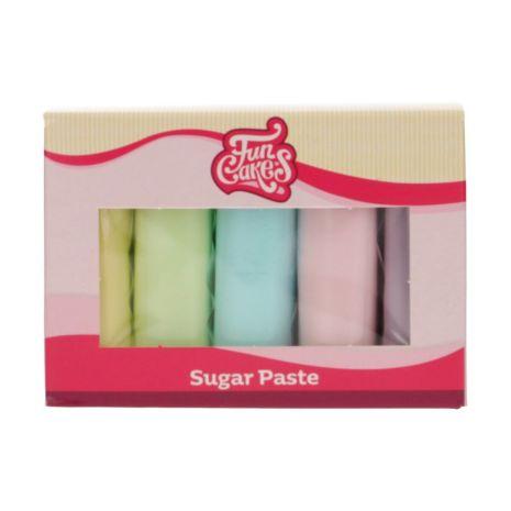 Sockerpasta Multipack Pastell