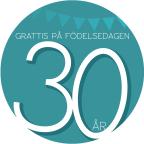 30 år Grön