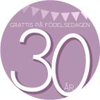 30 år Rosa