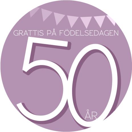 50 år Rosa