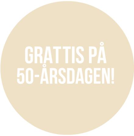 50 år Beige
