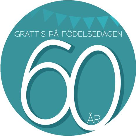 60 år Grön