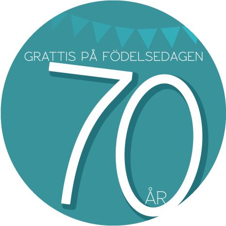 70 år Grön