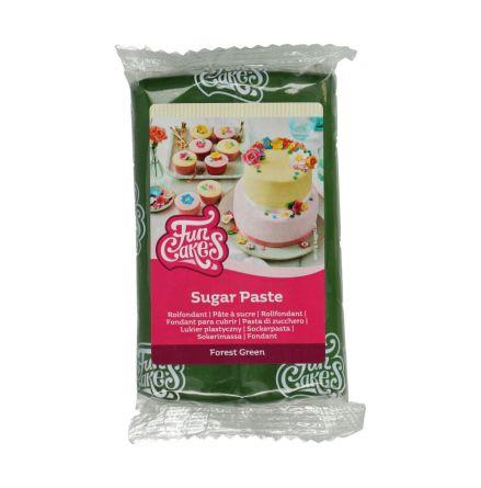Sockerpasta Skogsgrön, 250 g