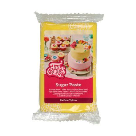 Sockerpasta Gul, 250 g