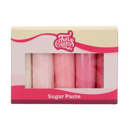 Sockerpasta Multipack Rosa