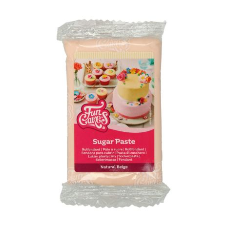 Sockerpasta Neutral Beige, 250 g