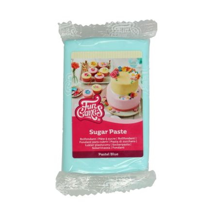 Sockerpasta Pastell Blå, 250 g