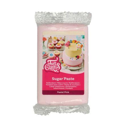 Sockerpasta Pastell Rosa, 250 g