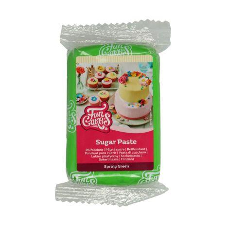 Sockerpasta Klargrön, 250 g