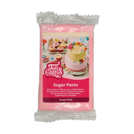 Sockerpasta Ljusrosa, 250 g