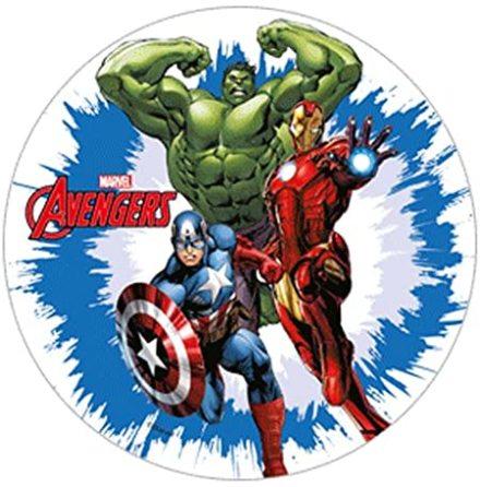 Avengers Hulken, Iron Man & Captain America Tårtbild