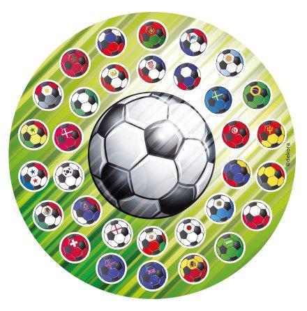 Fotboll Tårtbild