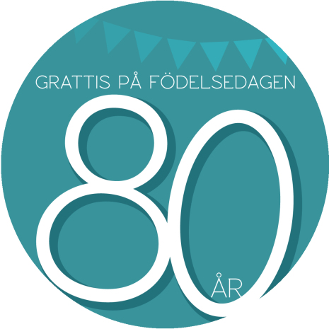 80 år grön