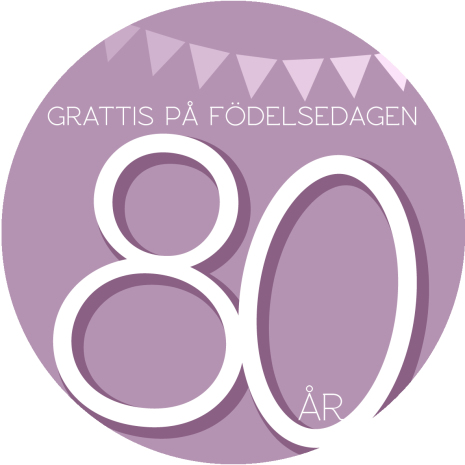80 år rosa