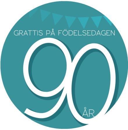 90 år Grön