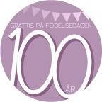 100 år rosa