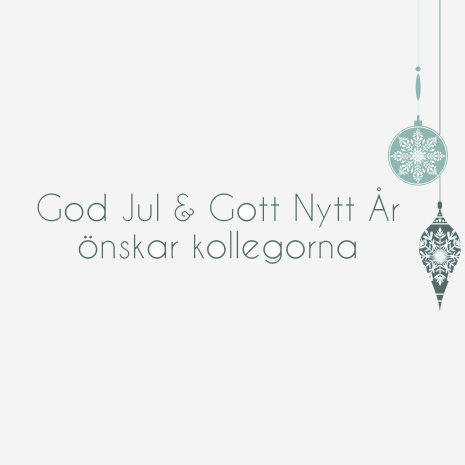 God Jul Kollegor