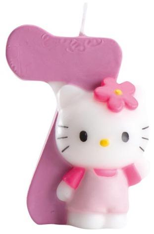 Tårtljus Hello Kitty