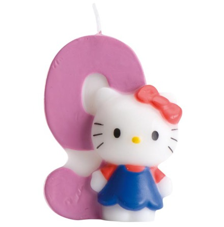 Hello Kitty, Tårtljus 9 år