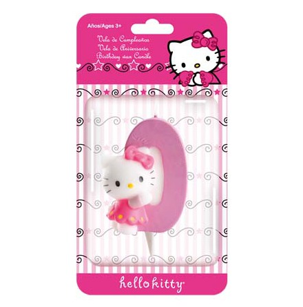 Hello Kitty, Tårtljus 0 år