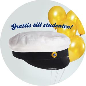 Student tårtbild