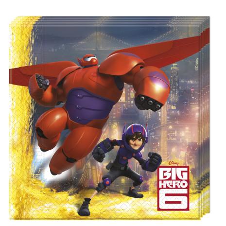Big Hero 6 servetter