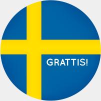 Grattis Sverige