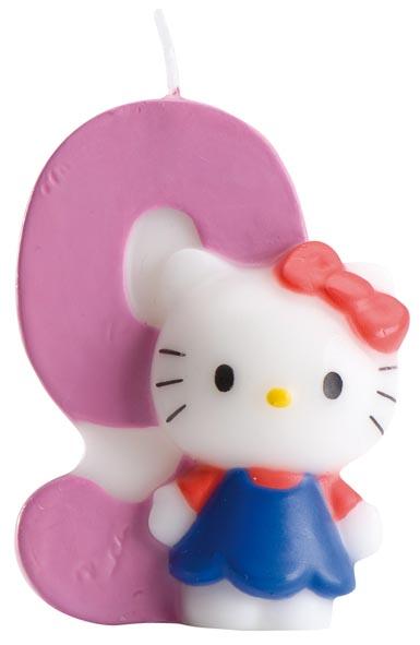 Hello Kitty siffertårtljus -9