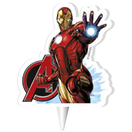 Avengers Iron Man, Tårtljus