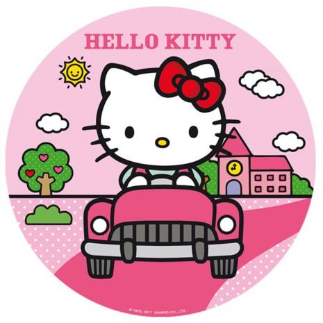 Hello Kitty tårtbild